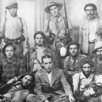 « Les brigades internationales dans la Guerre d'Espagne, images récupérées »